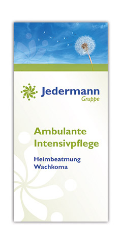Intensivpflege-Flyer